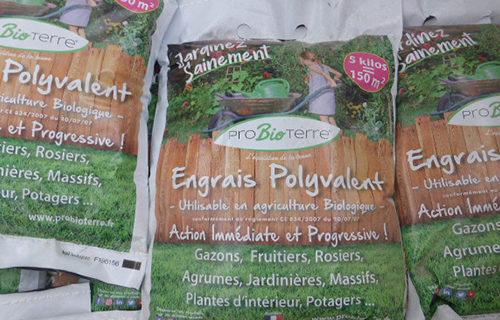 LE CHÊNE FLEURI Ancenis Maine Et Loire 49 Engrais Biologique Pro Bio Terre 5kg